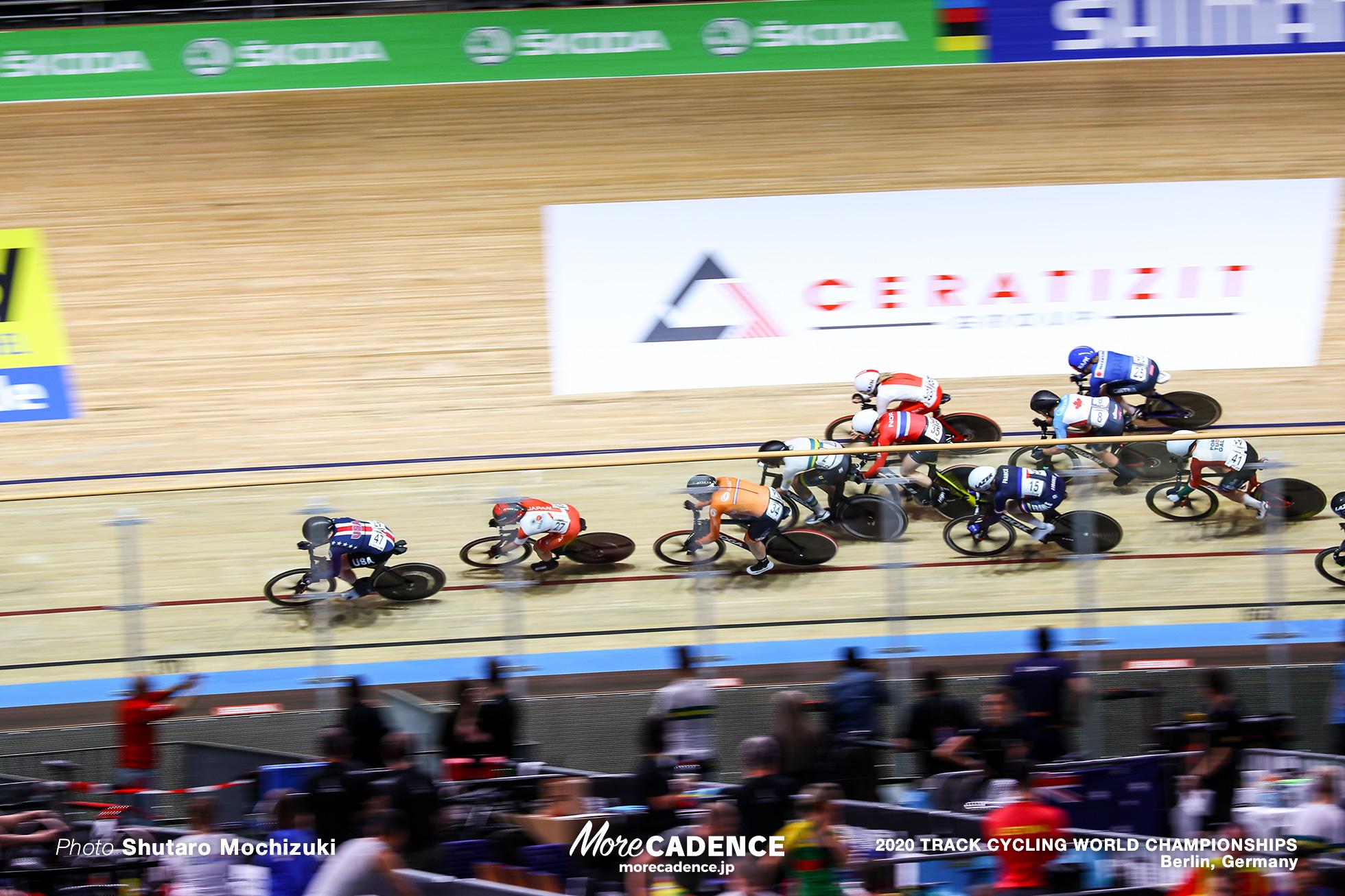 Scratch Race / Women's Omnium / 2020 Track Cycling World Championships