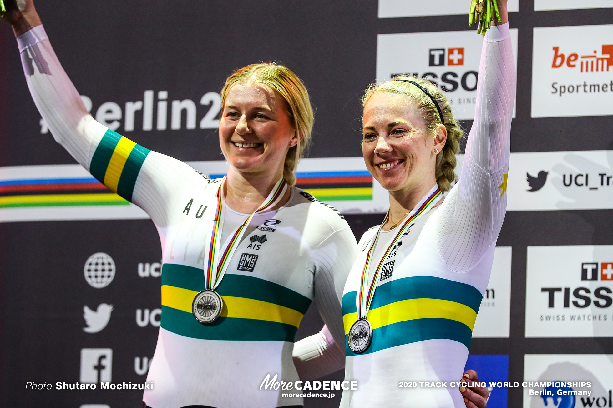 Women's Team Sprint / 2020 Track Cycling World Championships, Kaarle McCulloch カーリー・マカラク, Stephanie Morton ステファニー・モートン