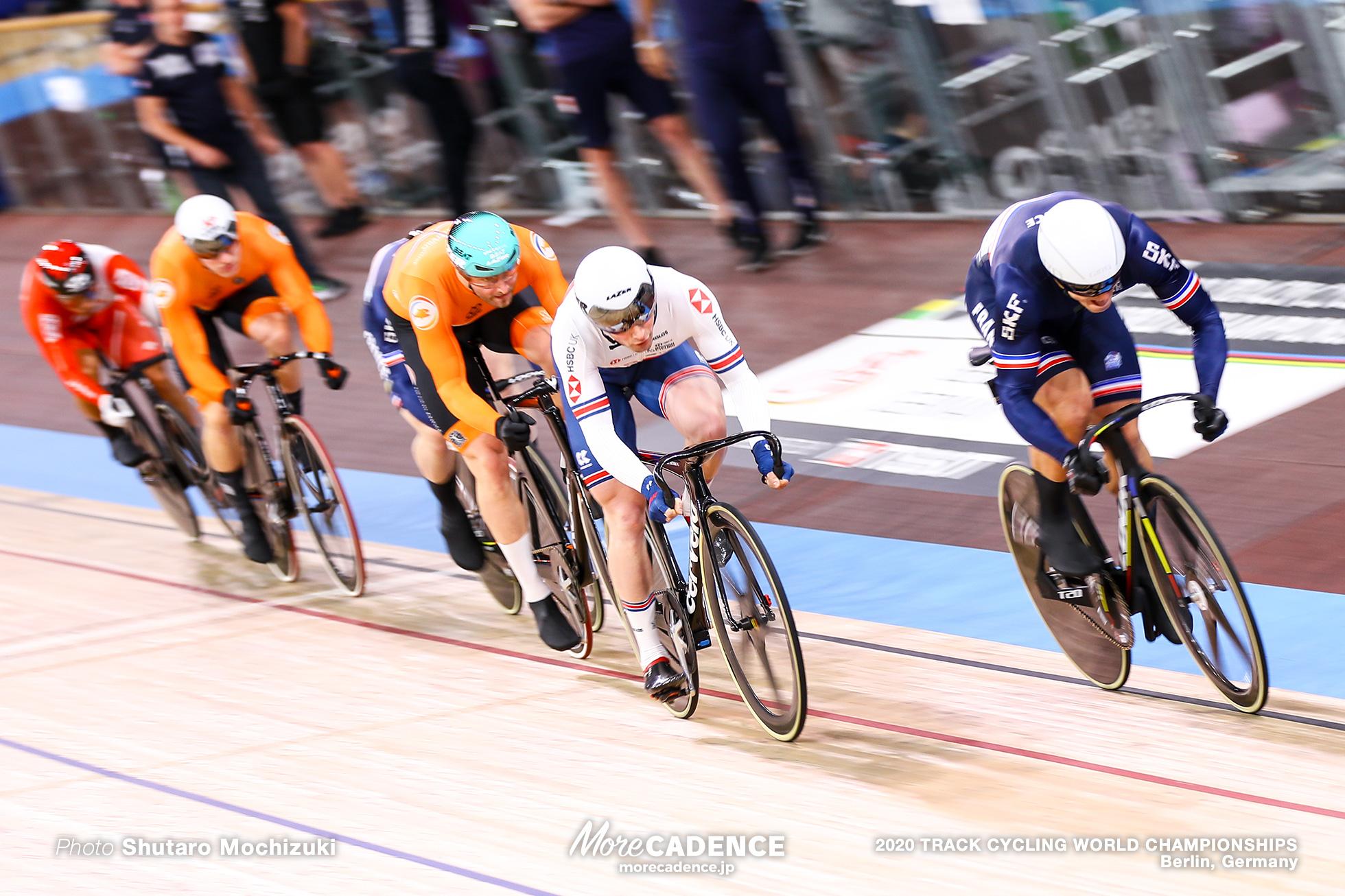 7-12 Final / Men's Keirin / 2020 Track Cycling World Championships