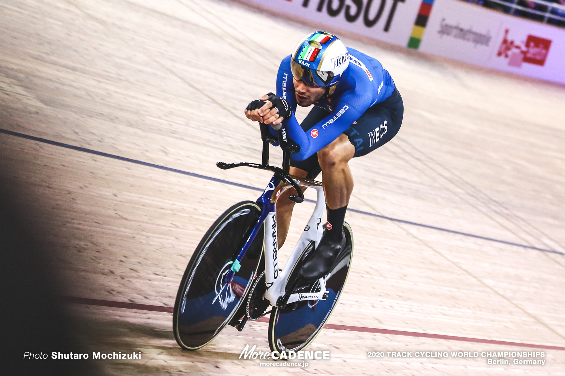 Filippo Ganna, Men's Individual Pursuit / 2020 Track Cycling World Championships, フィリポ・ガンナ
