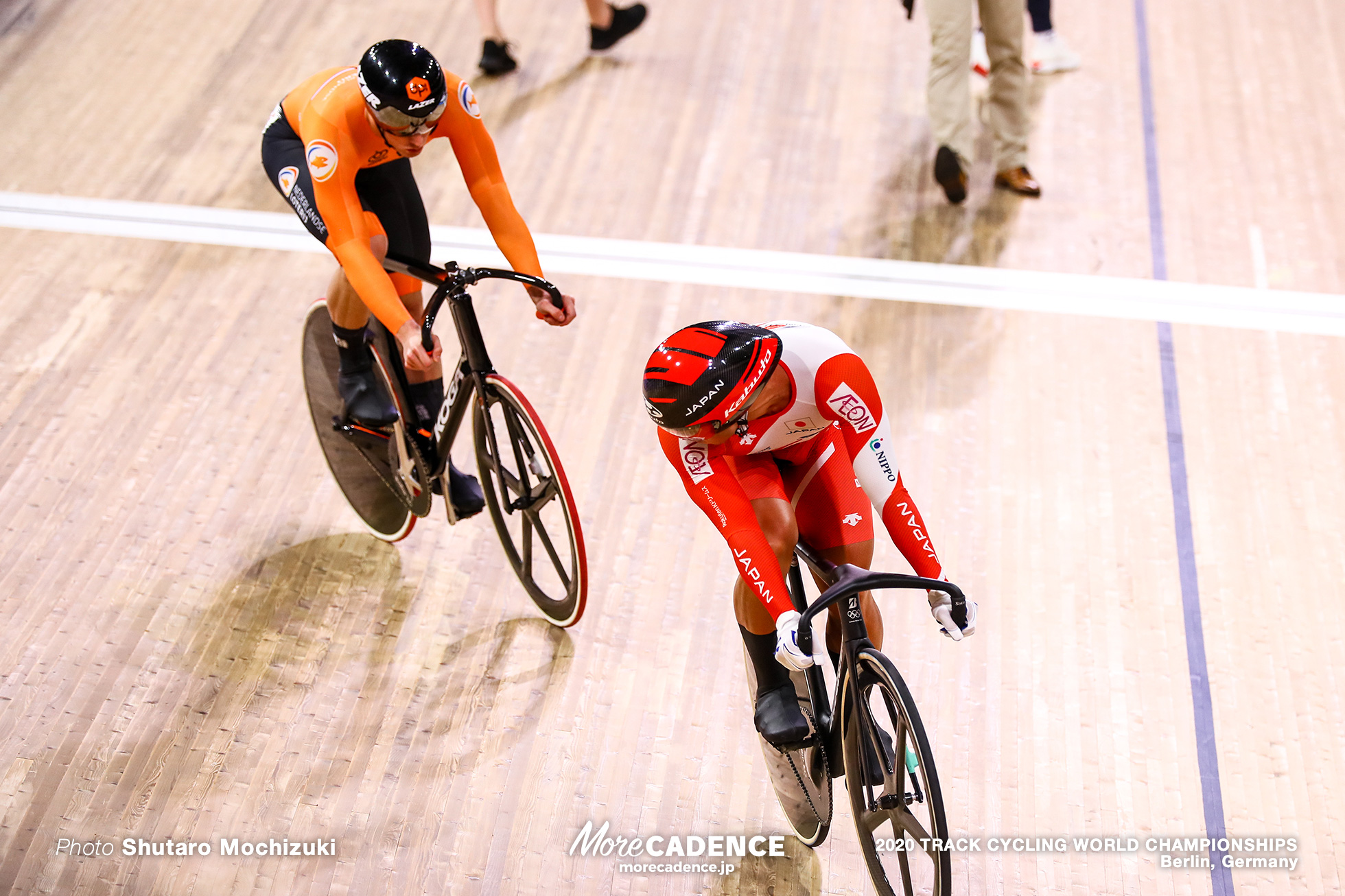 1/16 Finals / Men's Sprint / 2020 Track Cycling World Championships