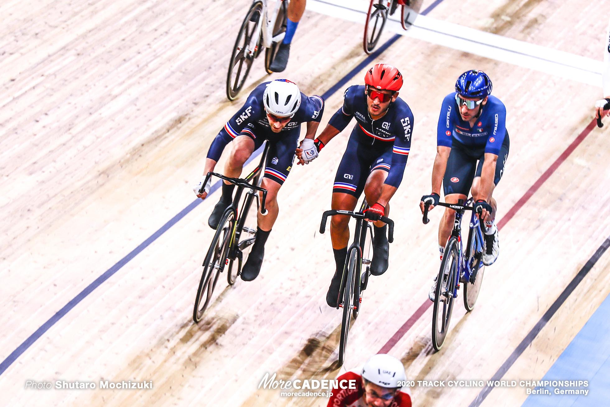 Men's Madison / 2020 Track Cycling World Championships, Benjamin Thomas ベンジャミン・トマ, Donavan Vincent Grondin ドナヴァン・グロンダン