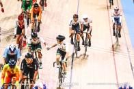 Men's Madison / 2020 Track Cycling World Championships / Germany ドイツ / Roger Kluge ロジャー・クルーゲ, Theo Reinhardt テオ・レインハート / Australia オーストラリア/ Cameron Meyer キャメロン・マイヤー, Sam Welsford サム・ウェルスフォード