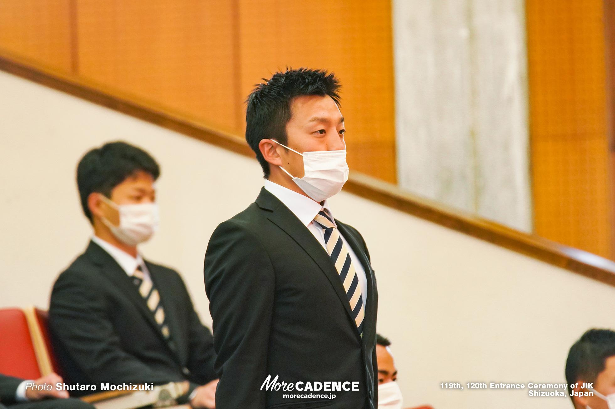 日本競輪選手養成所入所式, 窪木一茂