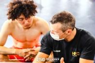 山崎賢人, 男子チームスプリント, オリンピックシュミレーション