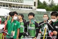 松山城南高校 チームスプリント JCSPA ジュニアサイクルスポーツ大会