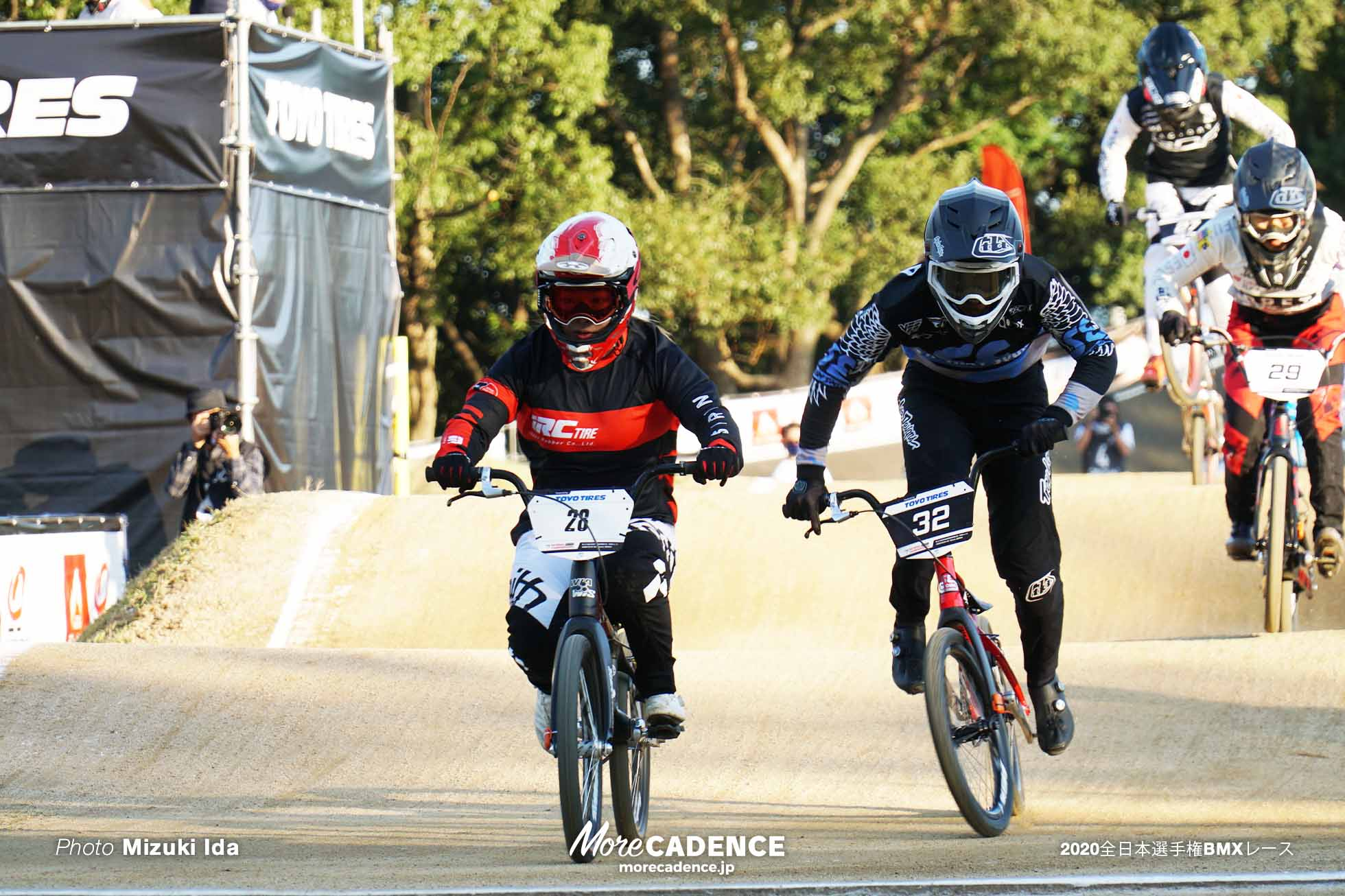 女子エリート決勝 丹野夏波 2020全日本選手権BMXレース