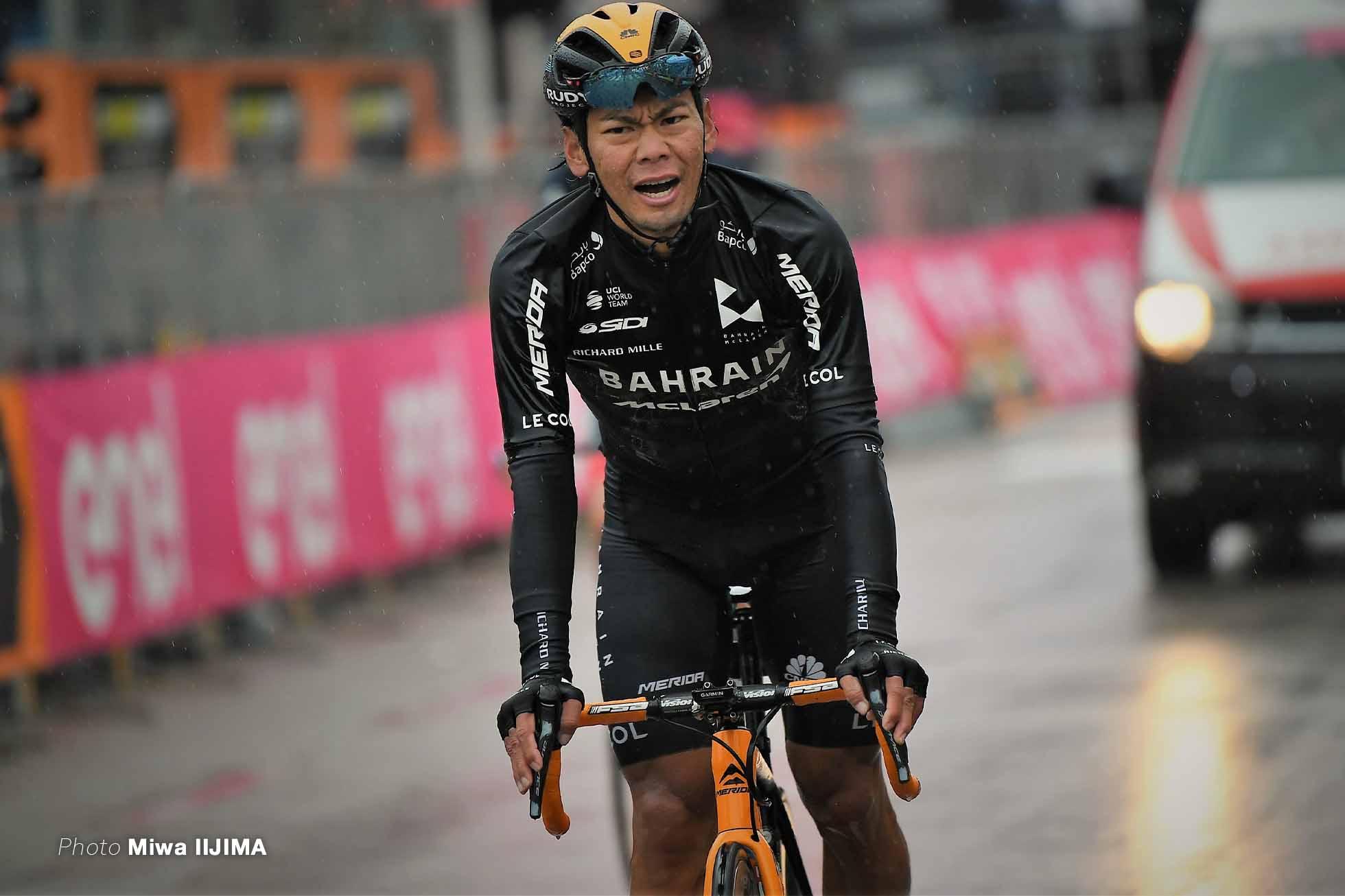 新城幸也 ジロ2020 第12ステージ photo Miwa IIJIMA