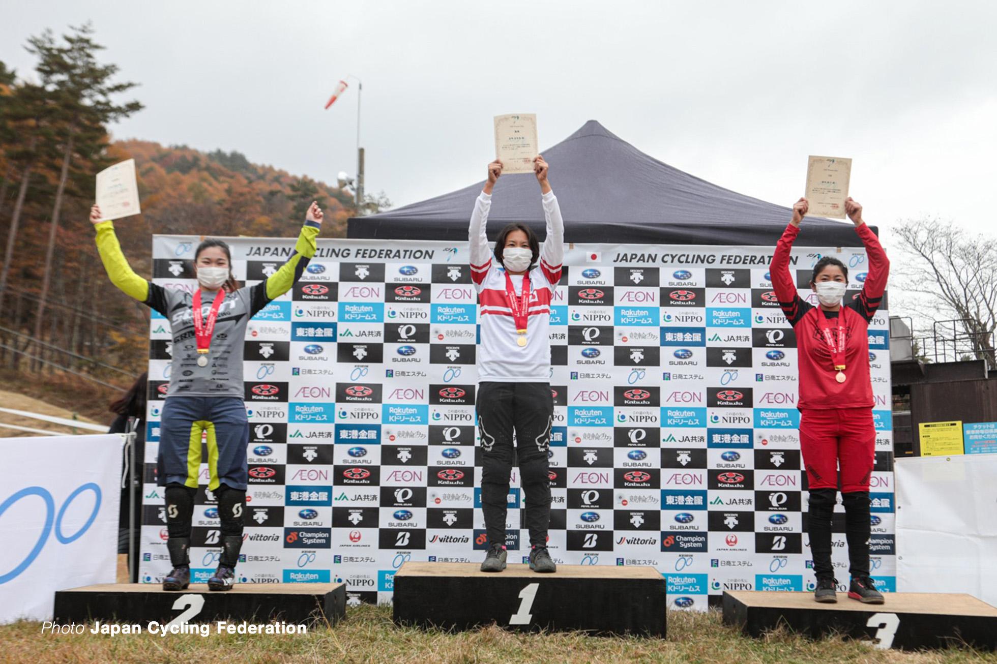 第33回全日本自転車競技選手権 DHI 女子エリート
