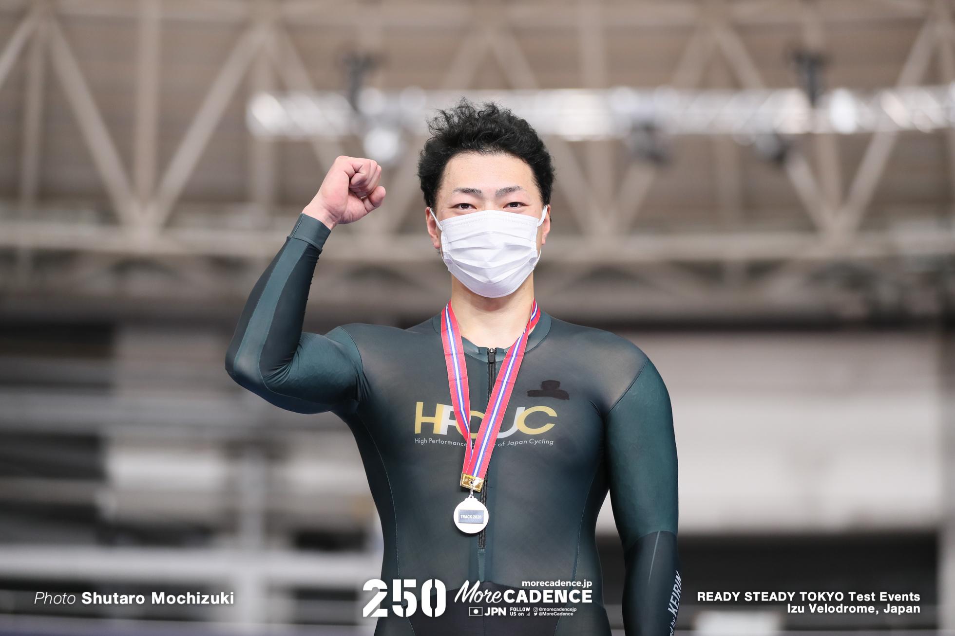 新田祐大, 男子スプリント, READY STEADY TOKYO 自転車競技トラック