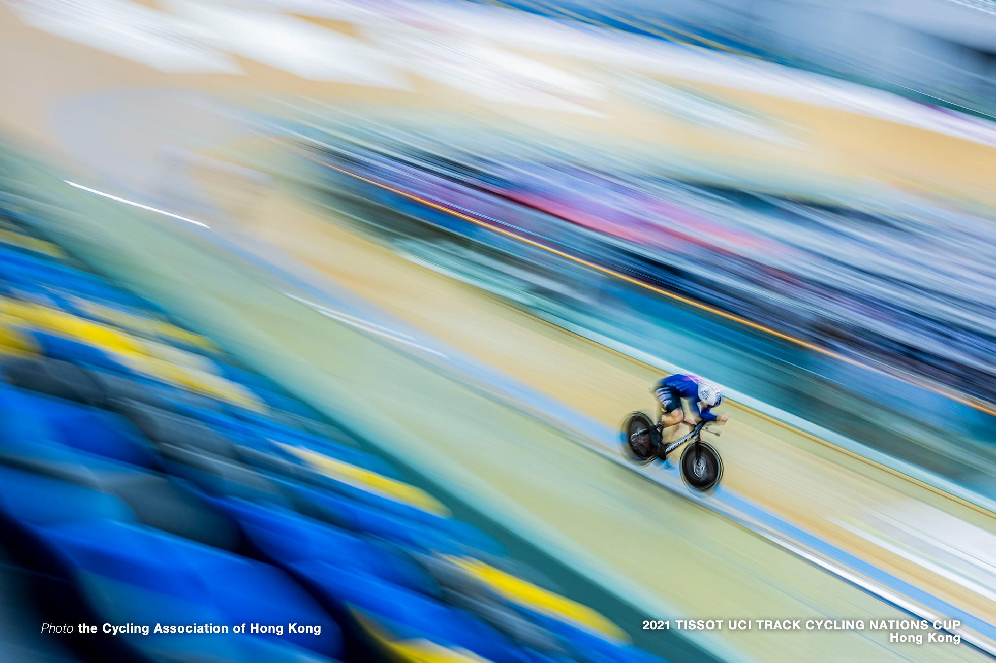 アシュトン・ランビー/Ashton Lambie, Qualifying, Men's Individual Pursuit, TISSOT UCI TRACK CYCLING NATIONS CUP - HONG KONG