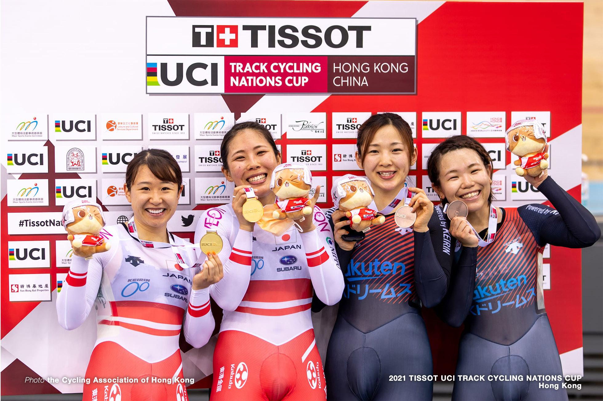 中村妃智,梶原悠未,鈴木奈央,古山稀絵,Womens Madison, TISSOT UCI TRACK CYCLING NATIONS CUP - HONG KONG
