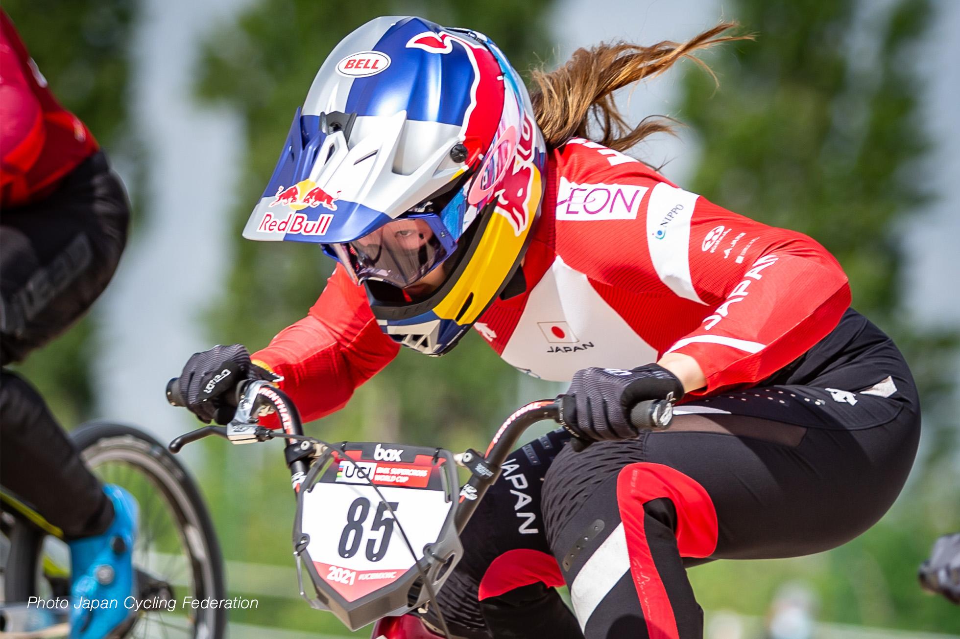畠山紗英 UCI BMX Supercross World Cup 2021