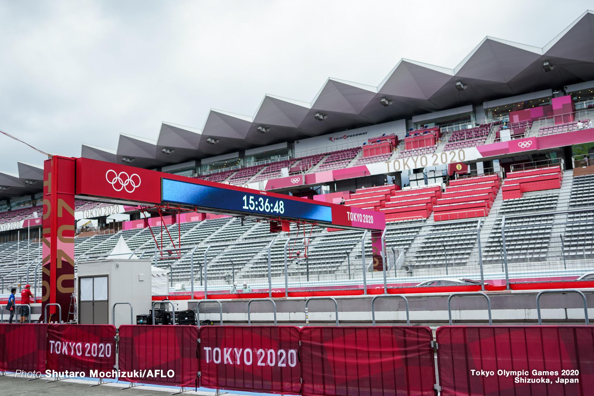 JULY 23, 2021 - Cycling : Men's Road Race during the Tokyo 2020 Olympic Games at 富士スピードウェイ/the Fuji International Speedway in Shizuoka, Japan. (Photo by Shutaro Mochizuki/AFLO)
