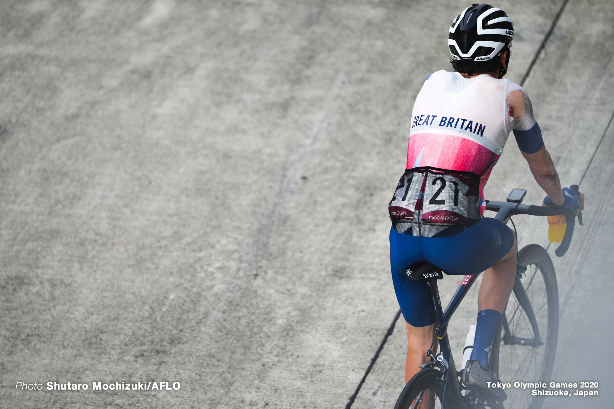 ゲラント・トーマス Geraint Thomas (GBR), JULY 24, 2021 - Cycling : Men's Road Race during the Tokyo 2020 Olympic Games at 富士スピードウェイ/the Fuji International Speedway in Shizuoka, Japan. (Photo by Shutaro Mochizuki/AFLO)