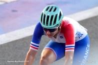 ジュリエット・ラボウス Juliette Labous (FRA),JULY 25, 2021 - Cycling : Women's Road Race during the Tokyo 2020 Olympic Games at the Fuji International Speedway in Shizuoka, Japan. (Photo by Shutaro Mochizuki/AFLO)