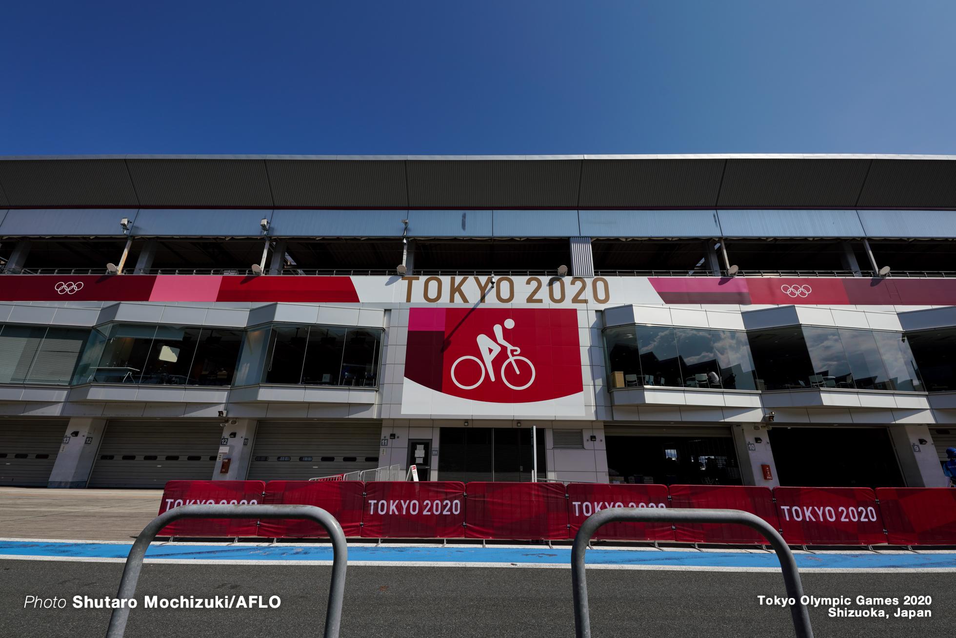 JULY 25, 2021 - Cycling : Women's Road Race during the Tokyo 2020 Olympic Games at the Fuji International Speedway in Shizuoka, Japan. (Photo by Shutaro Mochizuki/AFLO)