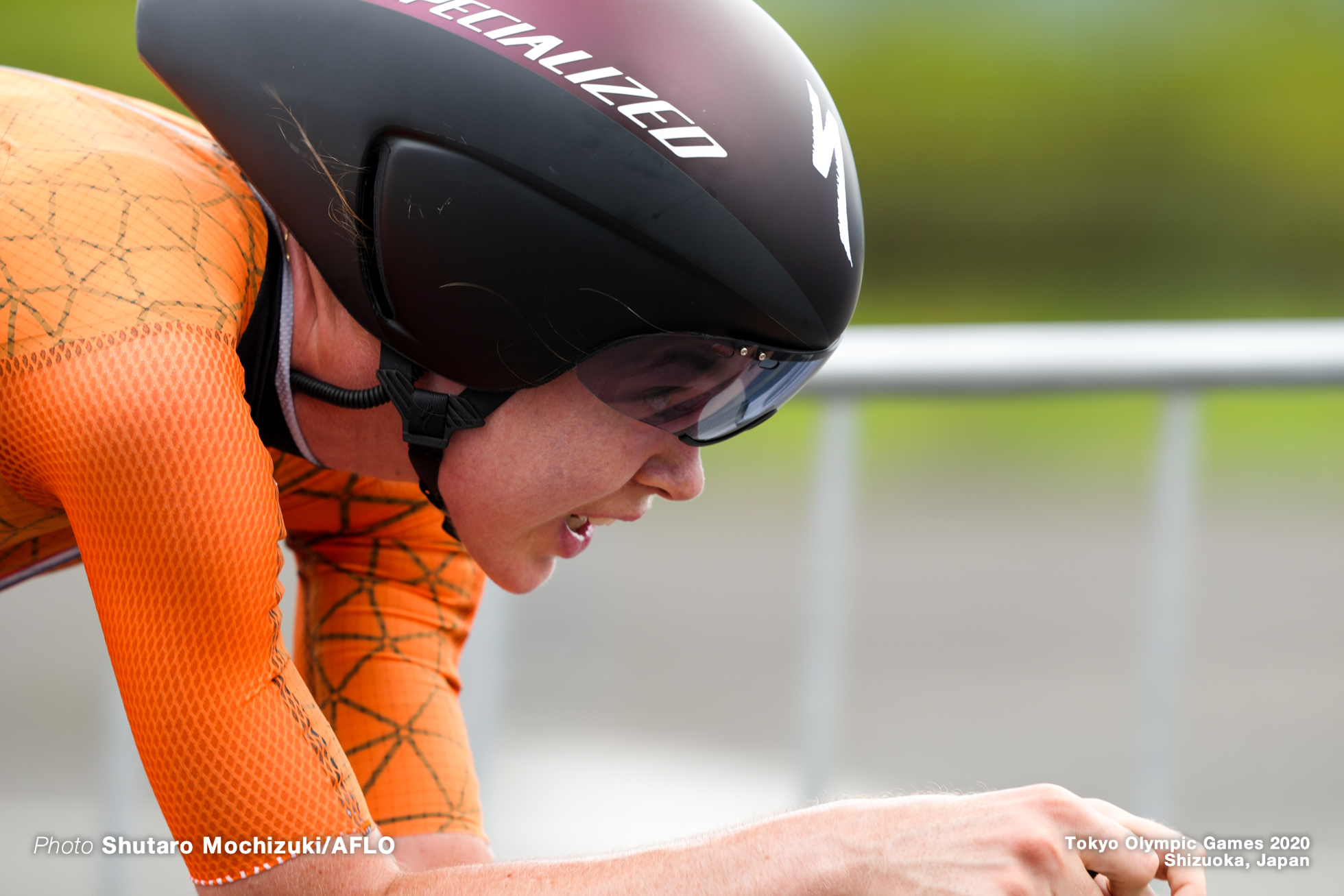 アンナ・ファンデルブレッヘン Anna van der Breggen (NED), JULY 28, 2021 - Cycling : Women's Individual Time Trial during the Tokyo 2020 Olympic Games at the Izu MTB Course in Shizuoka, Japan. (Photo by Shutaro Mochizuki/AFLO)