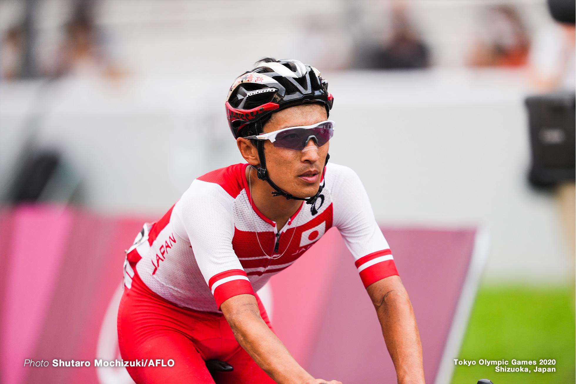 増田成幸/Nariyuki Masuda,JULY 24, 2021 - Cycling : Men's Road Race during the Tokyo 2020 Olympic Games at 富士スピードウェイ/the Fuji International Speedway in Shizuoka, Japan. (Photo by Shutaro Mochizuki/AFLO)