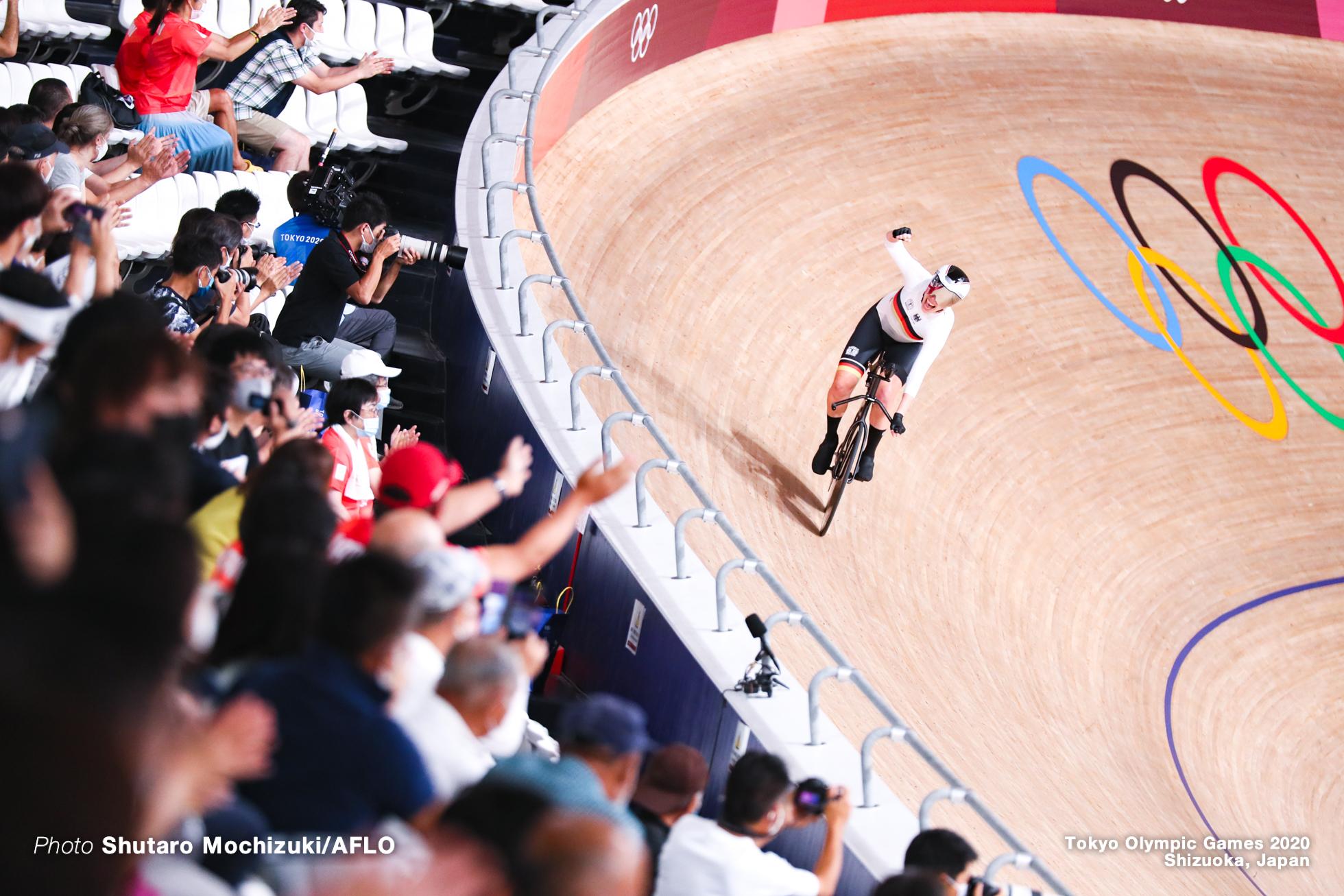 フランチスカ・ブラウス Franziska Brausse (GER), Women's Team Pursuit Final AUGUST 3, 2021 - Cycling : during the Tokyo 2020 Olympic Games at the Izu Velodrome in Shizuoka, Japan. (Photo by Shutaro Mochizuki/AFLO)