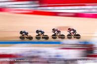 アーロン・ゲート Aaron Gate (NZL), キャンベル・スチュワート CampBell Stewart (NZL), リーガン・ゴフ Regan Gough (NZL), ジョーダン・カービー Jorden Kerby (NZL), Men's Team Pursuit Final for BronzeAUGUST 4, 2021 - Cycling : during the Tokyo 2020 Olympic Games at the Izu Velodrome in Shizuoka, Japan. (Photo by Shutaro Mochizuki/AFLO)