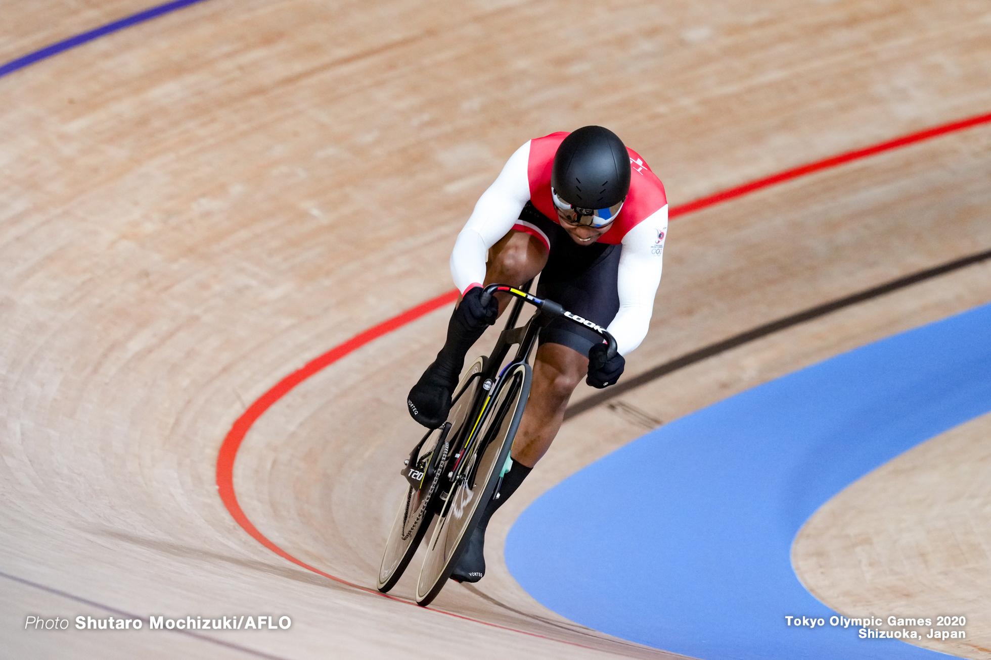 ニコラス・ポール Paul Nicholas (TTO), Men's Sprint Qualifying AUGUST 4, 2021 - Cycling : during the Tokyo 2020 Olympic Games at the Izu Velodrome in Shizuoka, Japan. (Photo by Shutaro Mochizuki/AFLO)