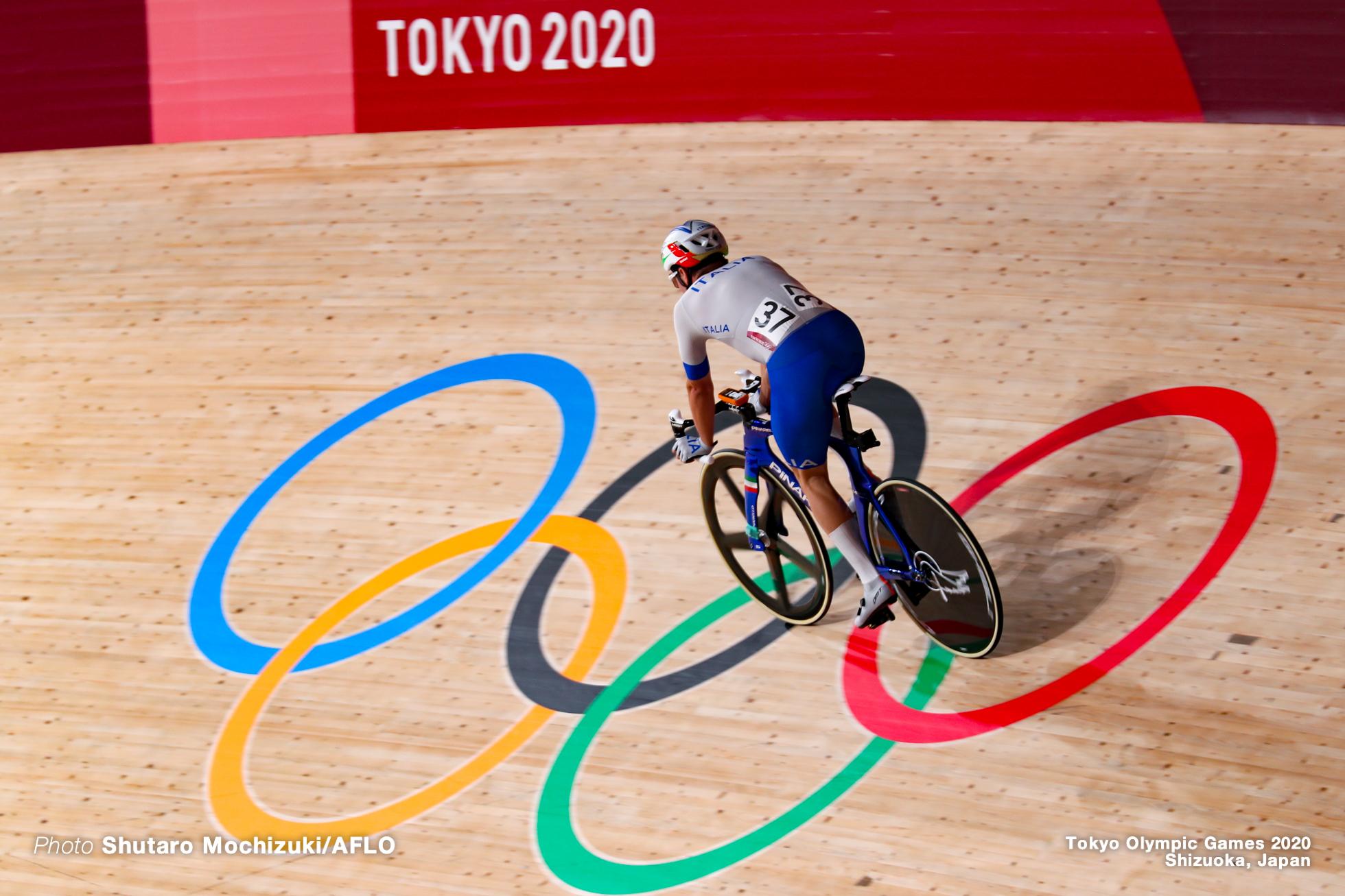 エリア・ビビアーニ Elia Viviani (ITA), Men's Omnium AUGUST 5, 2021 - Cycling : during the Tokyo 2020 Olympic Games at the Izu Velodrome in Shizuoka, Japan. (Photo by Shutaro Mochizuki/AFLO)