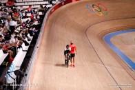 小林優香 Yuka Kobayashi (JPN), Women's Sprint Qualifying AUGUST 6, 2021 - Cycling : during the Tokyo 2020 Olympic Games at the Izu Velodrome in Shizuoka, Japan. (Photo by Shutaro Mochizuki/AFLO)