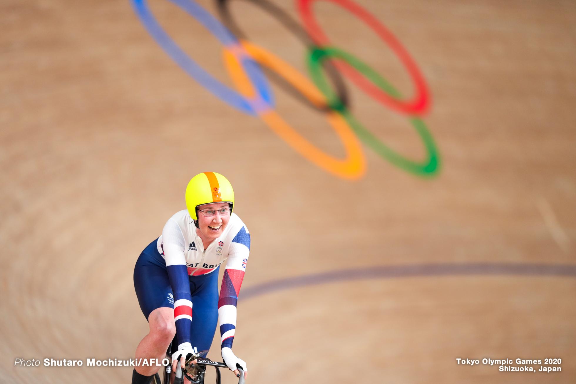 ケイティ・アーチボルド Katie Archibald (GBR), Women's Madison AUGUST 6, 2021 - Cycling : during the Tokyo 2020 Olympic Games at the Izu Velodrome in Shizuoka, Japan. (Photo by Shutaro Mochizuki/AFLO)