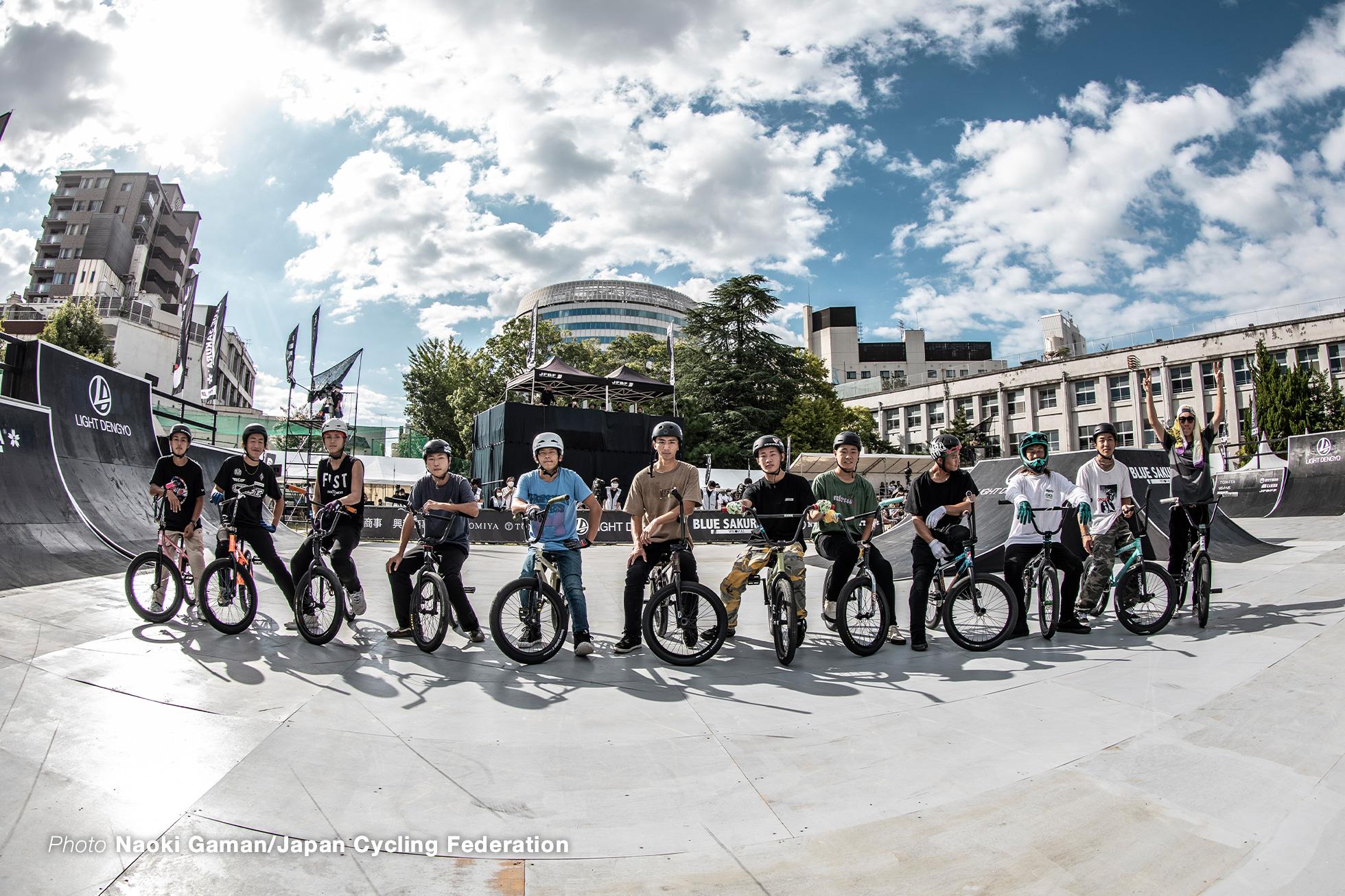 全日本BMXフリースタイル選手権パーク