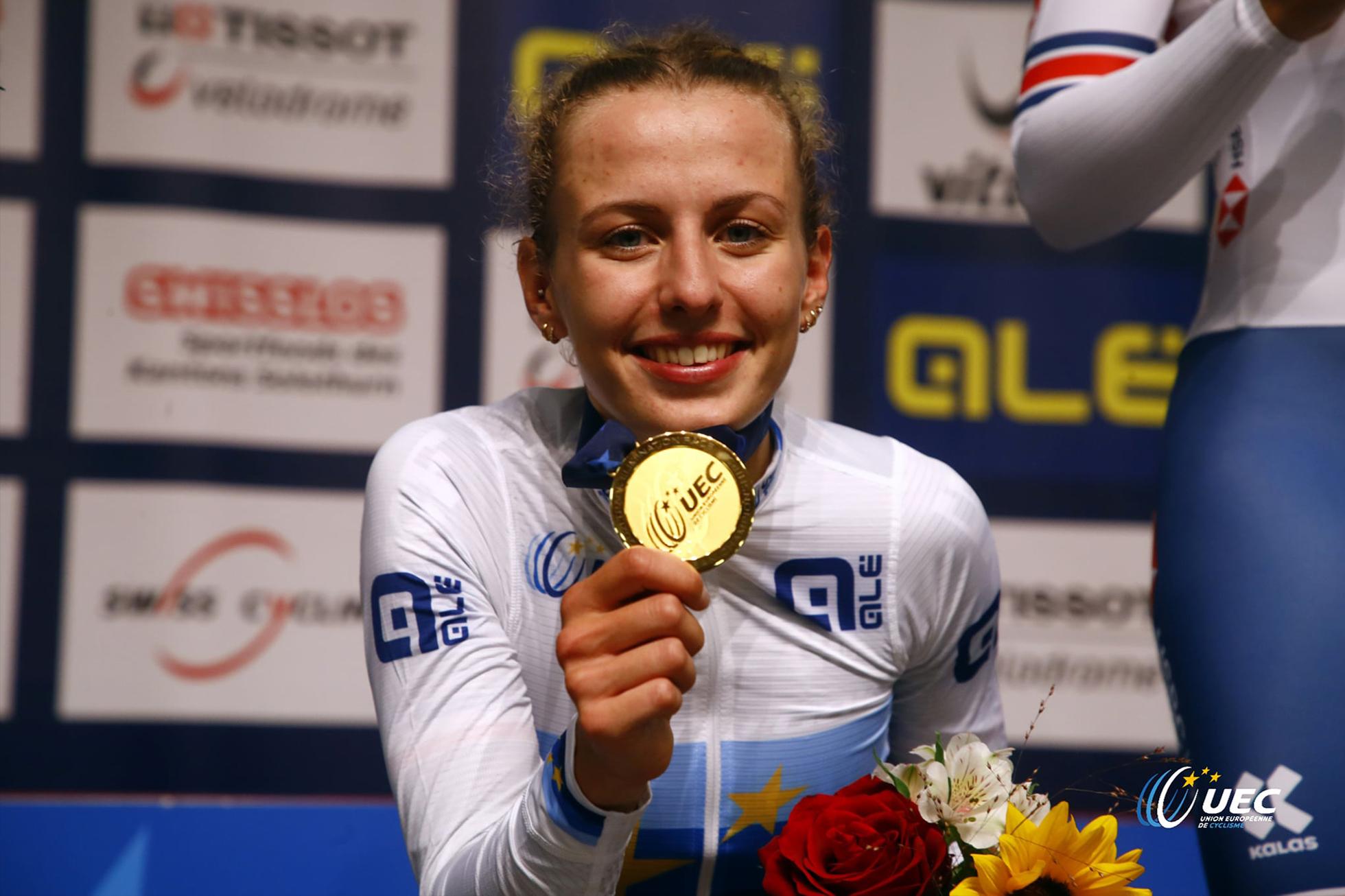 Women's Elimination 2021 UEC Track Championships,バレンタイン・フォルタン