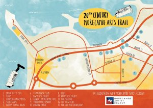 20th century arts trail map