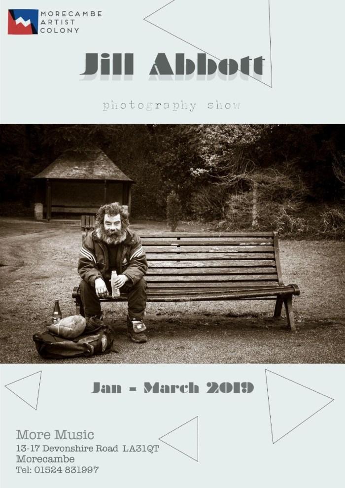 Jill Abbott photo show poster