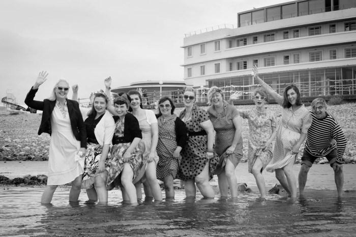 Vintage seaside memories in Morecambe