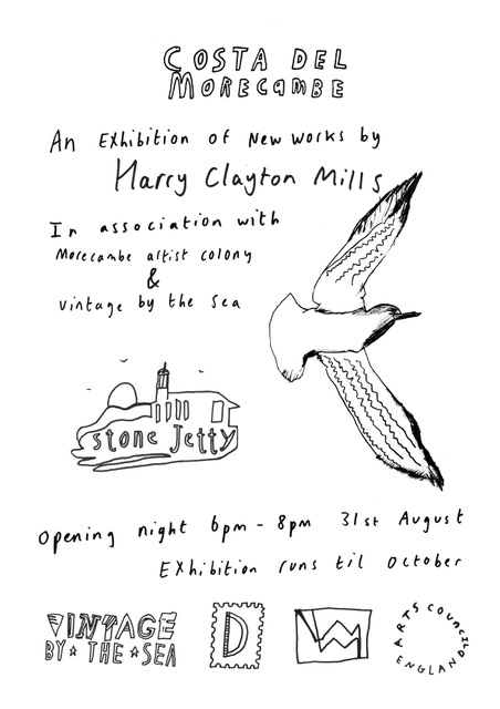 Poster for Harry mills exhibition