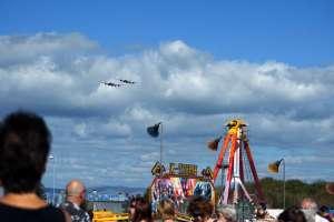 Vintage bombers Morecambe festivals