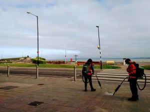 Morecambe clean