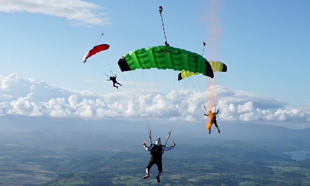 Ospreys Skydiving Display - Morecambe Carnival Blog