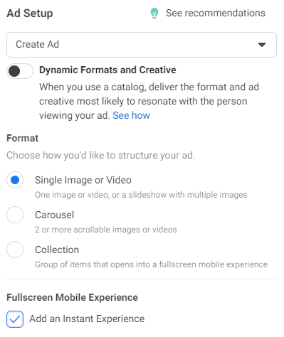Ads Manager for Filter