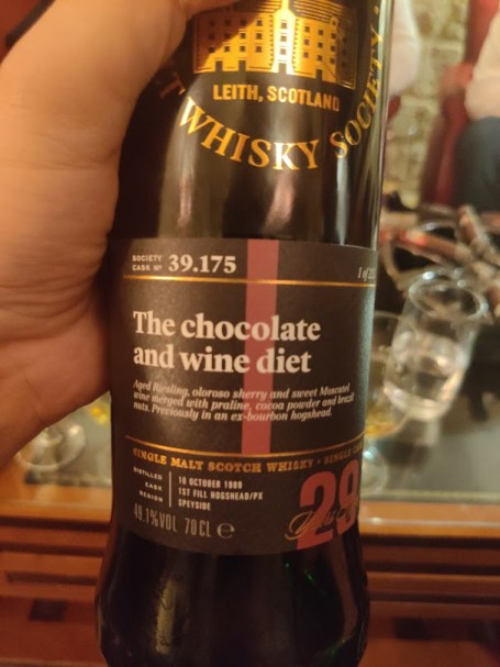 Linkwood 29 year-old - SMWS 39.175: The chocolate and wine diet