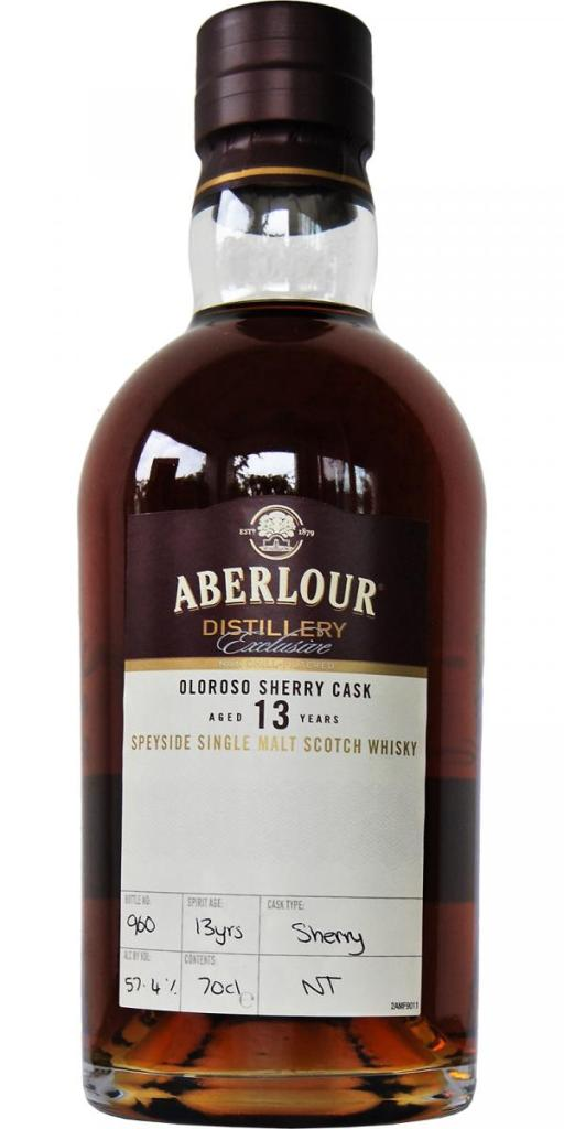 Aberlour 13-year-old ex-oloroso distillery exclusive