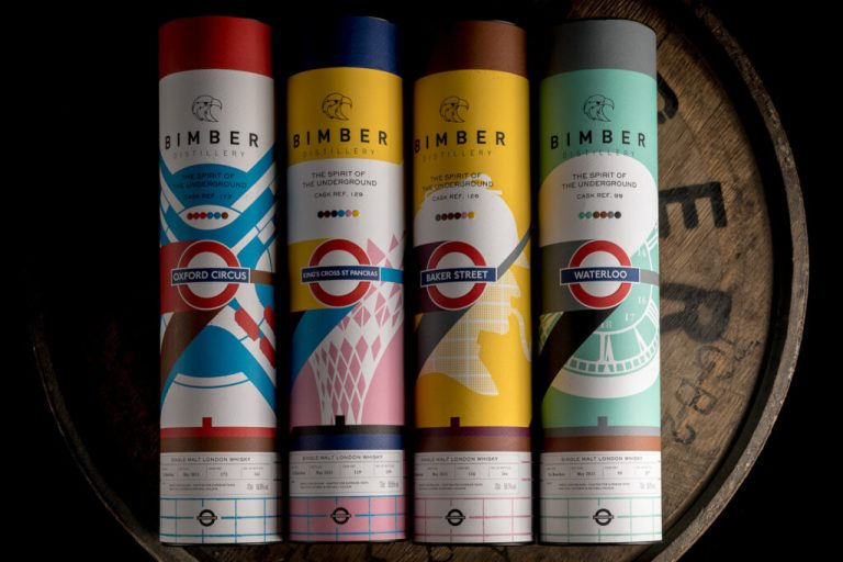 Bimber's first batch of its new Spirit of the Underground series. We tasted all four on a Tweet Tasting.
