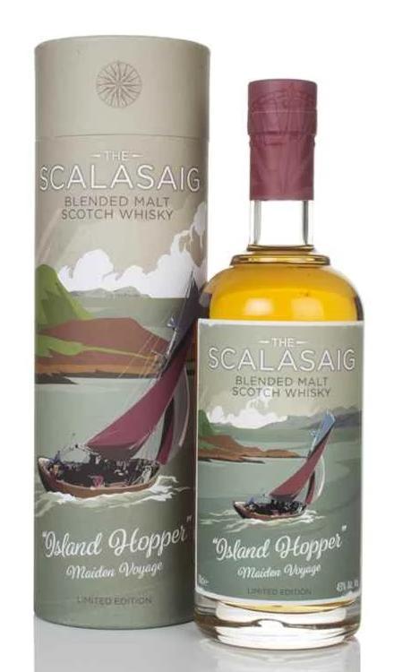 The Scalasaig Island Hopper Maiden Voyage blended malt, tasted during a Tweet Tasting.