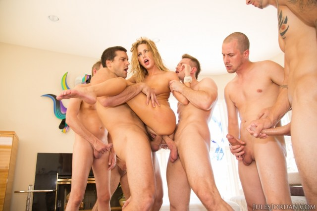 Carter cruise first gangbang answer