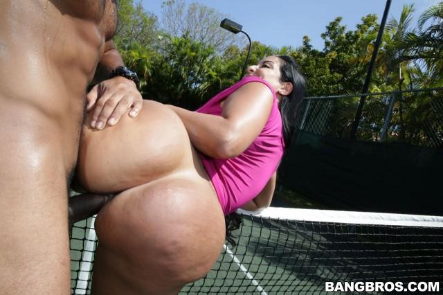 Big black ass on dick