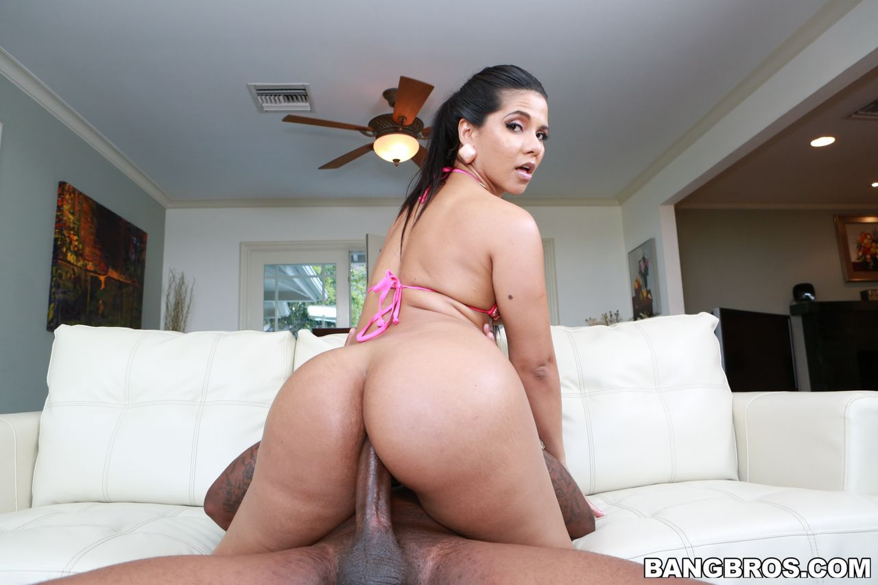 Thick Latina Rose Monroe Tries Anal With Big Black Dick-7857