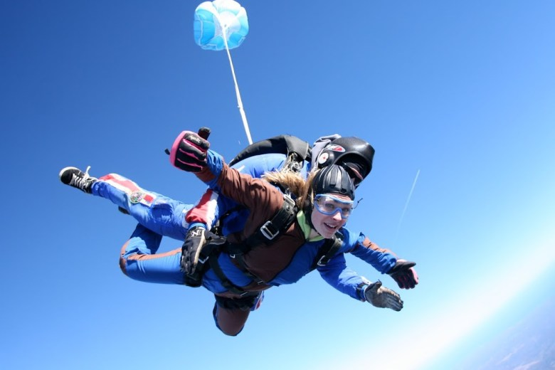 Charlotte skydiving