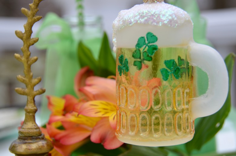 Irish Flag Poke Cake