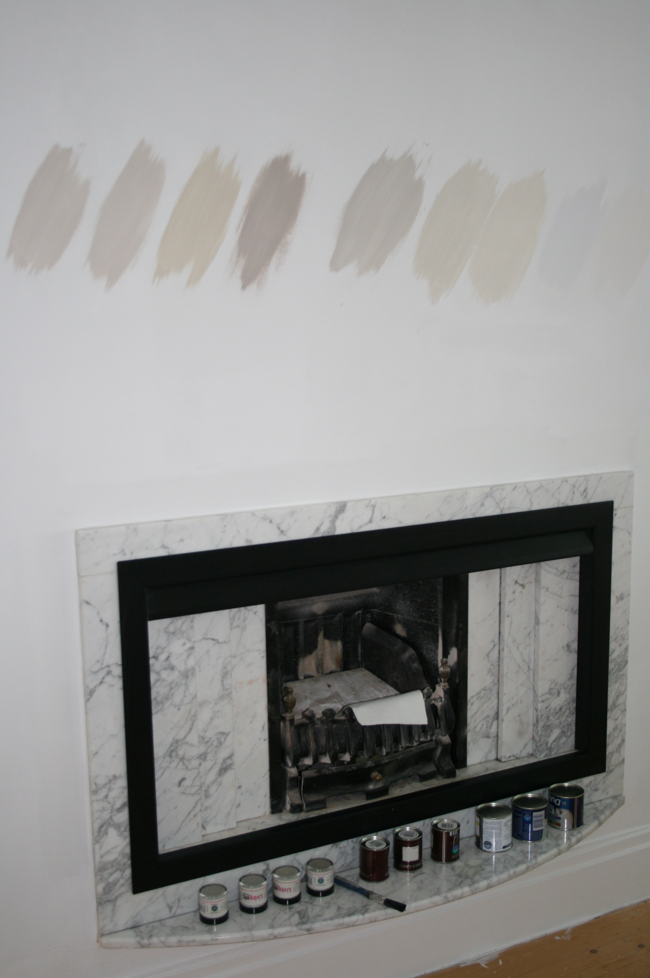 Oh, paint, how I love thee, and how I love the way thee looks totally bloody different on samples cards, in tester pots and then on the walls. And then at night. And then in a North facing room.