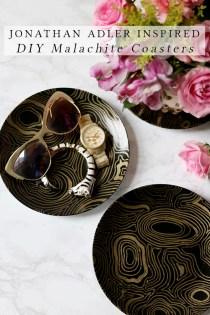jonathan-adler-inspired-diy-malachite-coasters-feature-image